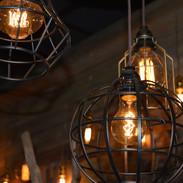 Caged Fliament Lanterns