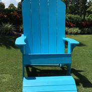 Giant Adirondack Chair Photo Op