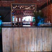 Ten Cane Bar W/ Back Bar