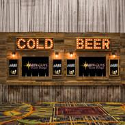 8 Tap Reclaimed Beer Wall