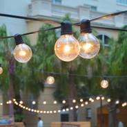 Bare Bulb String Lighting