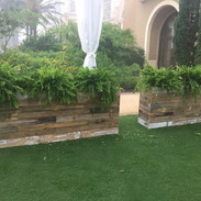 Reclaimed Wood Planter Boxes