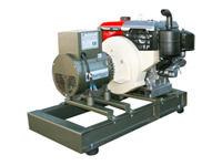 Gerador Yanmar Série YTFG / YTSG (D) potencias de 4 a 15 kVA nas versões trifásicas e monofásicas