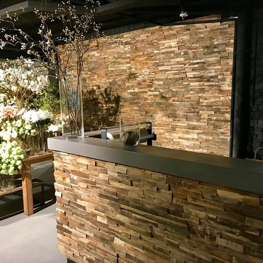 bar/keukentje van hout