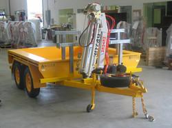 Water Corp trailer - 1000S winch crane 009