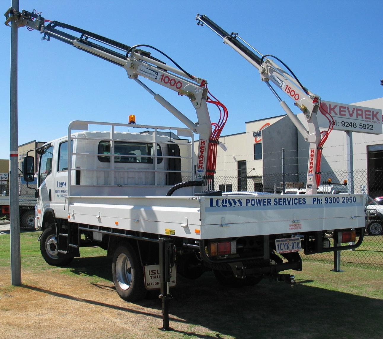 Logsys Double Crane (1)