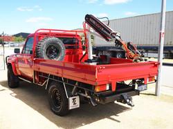 Pole Grab Red Landcruiser (2)