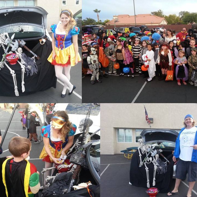 Michael Darby and Smile team up with Coral academy of Science Elementary School for an amazing Halloween!
