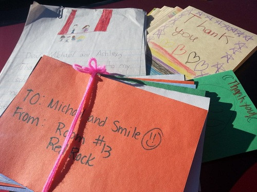 Michael Darby and Smile get amazing fan letters from the youth of American!!!!!