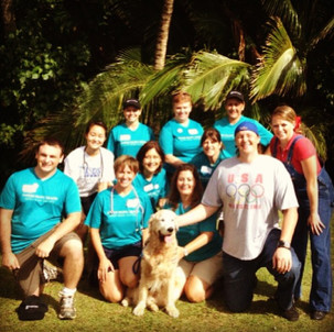 Michael Darby & Smile perform at KidsFest in Kaua'i.