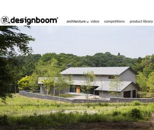 「南軽井沢の家」designboom掲載