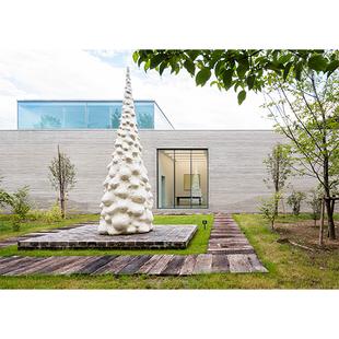奈良美智さんの美術館がオープン