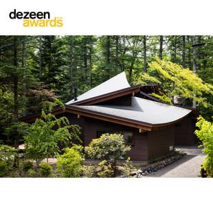 「積葉の家」Dezeen Award 2020ロングリスト選出