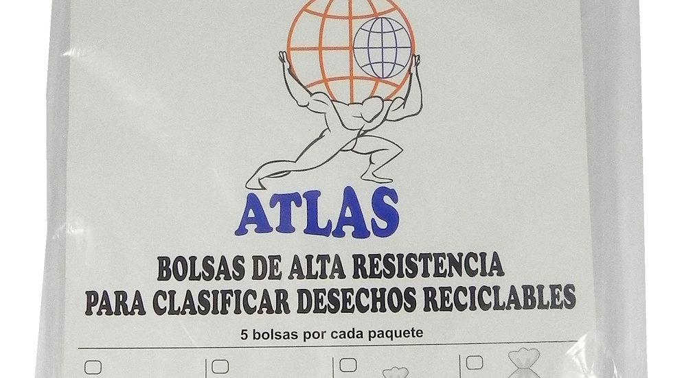 ATLAS BOLSA RECICLAR 53 LTS 24X40X