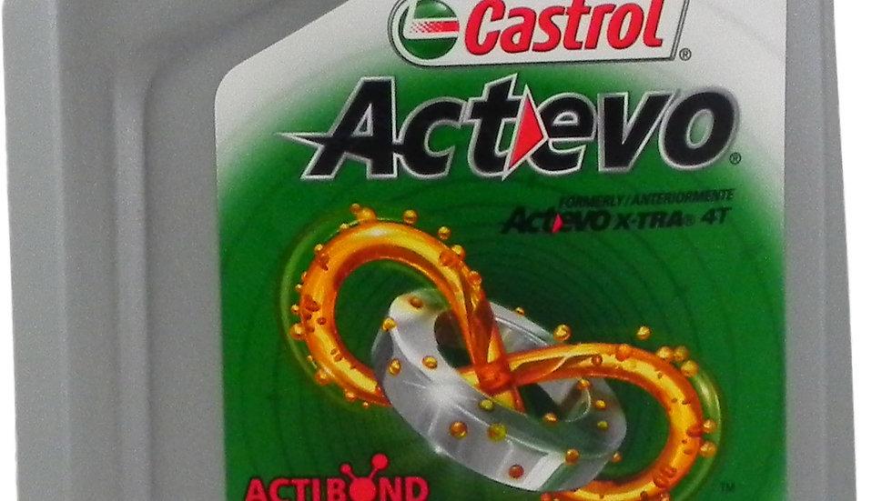 CASTROL ACTEVO 4T 10W40 QT