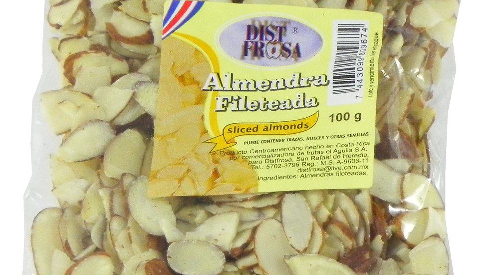 DISTFROSA ALMENDRAS FILETEADA 100 GRS