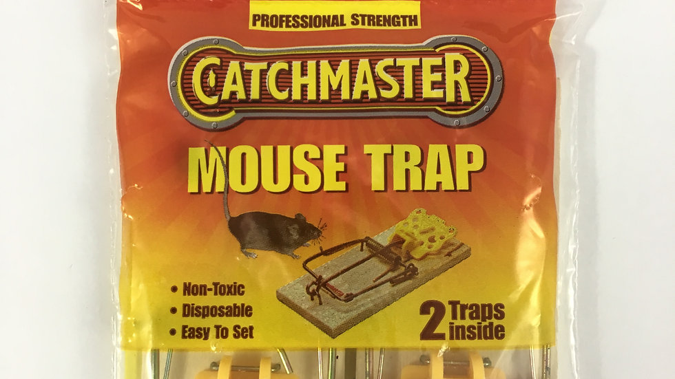 CATCHMASTER TRAMPA RATON PACx2