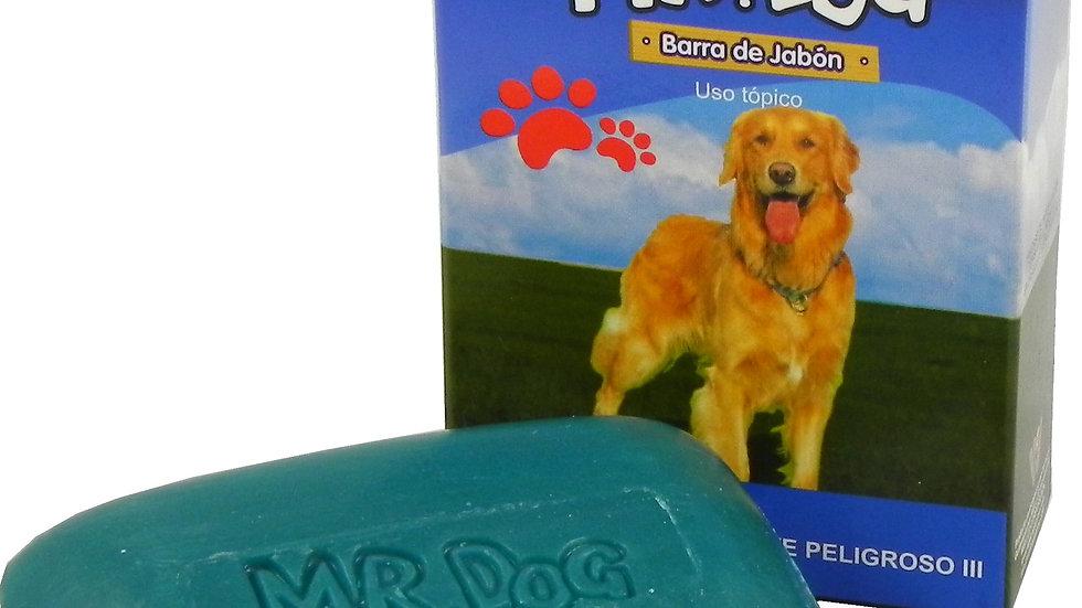 MR DOG JABON MEDICADO ANTIPULGAS 80 GR