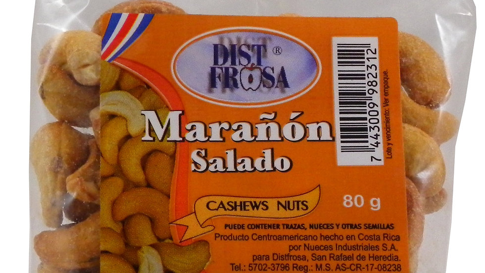 DISTFROSA MARA�ON SALADO 80 GRS