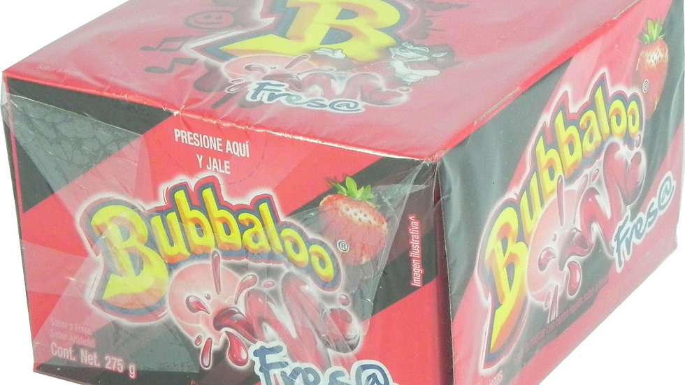 BUBBALOO FRESA 50 UND