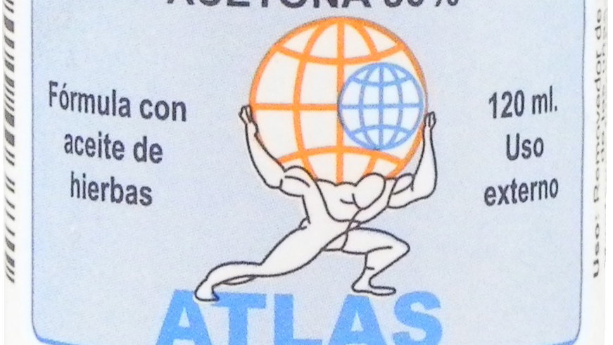 ATLAS QUITA ESMALTE 120 ML