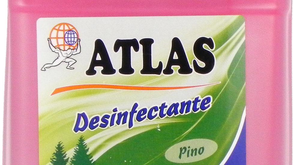 ATLAS DESINFECTANTE PINO 1 GALON