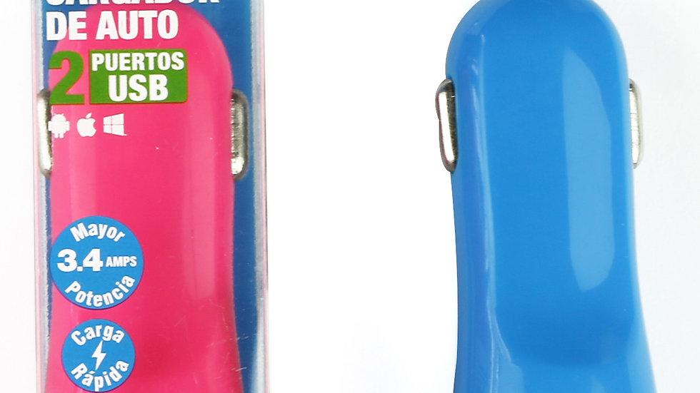 I2GO CARGADOR CARRO DOBLE USB