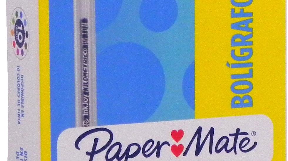 PAPER MATE LAPICERO AZUL (CJ 12)