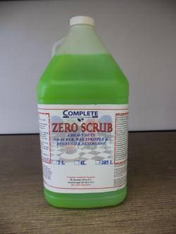 Zero Scrub - Descaler & Detergent