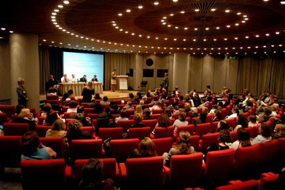 Plenary room, plénière