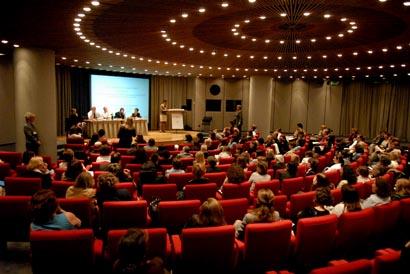 Plenary room, plénière