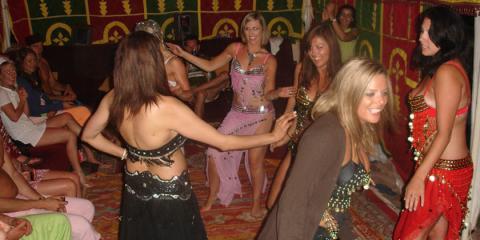 team building  oriental dance
