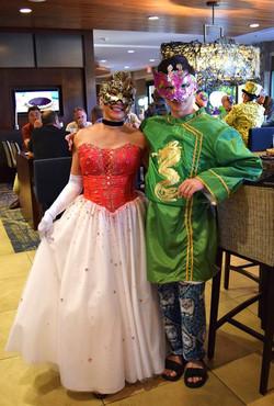 Masquerade Ball - dressed to thrill