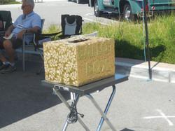 A Car Show - ballot box