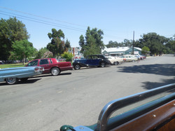Drive Tour - parking the Packard 01