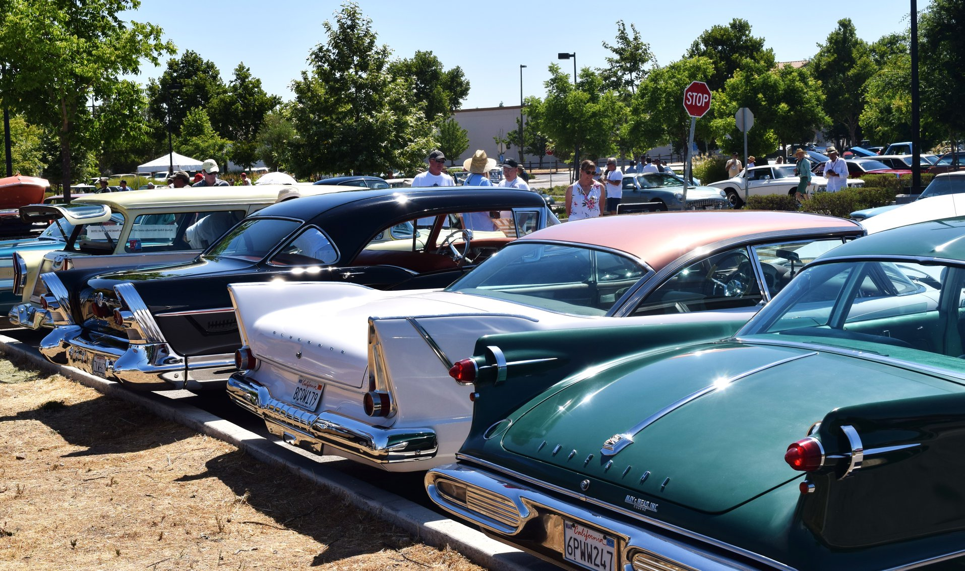 A Car Show - Fins and more fins