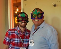 Masquerade Ball - Daniel and Dan