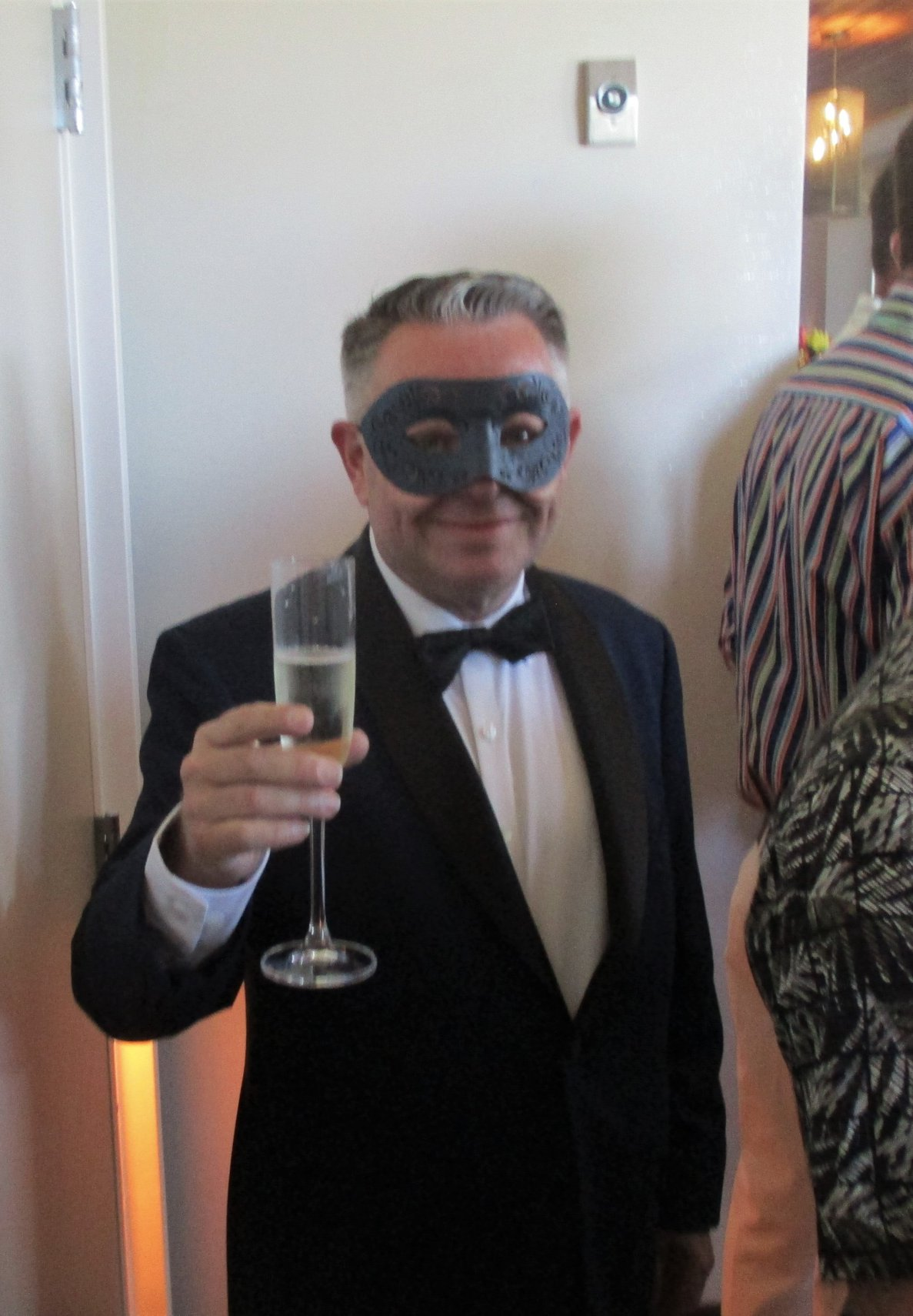 Masquerade Ball - Bill in Tuxedo