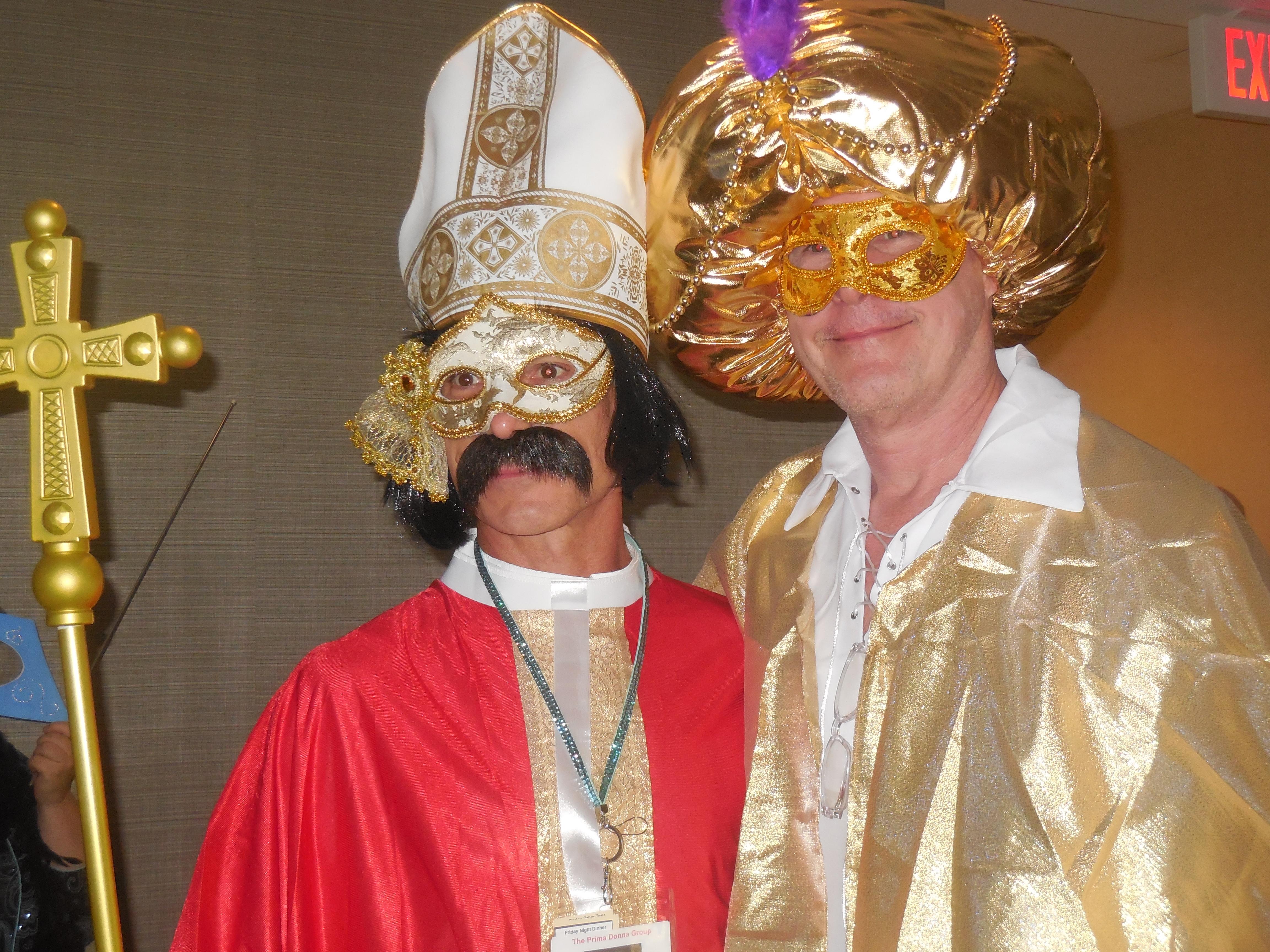 Masquerade Ball - characters 12