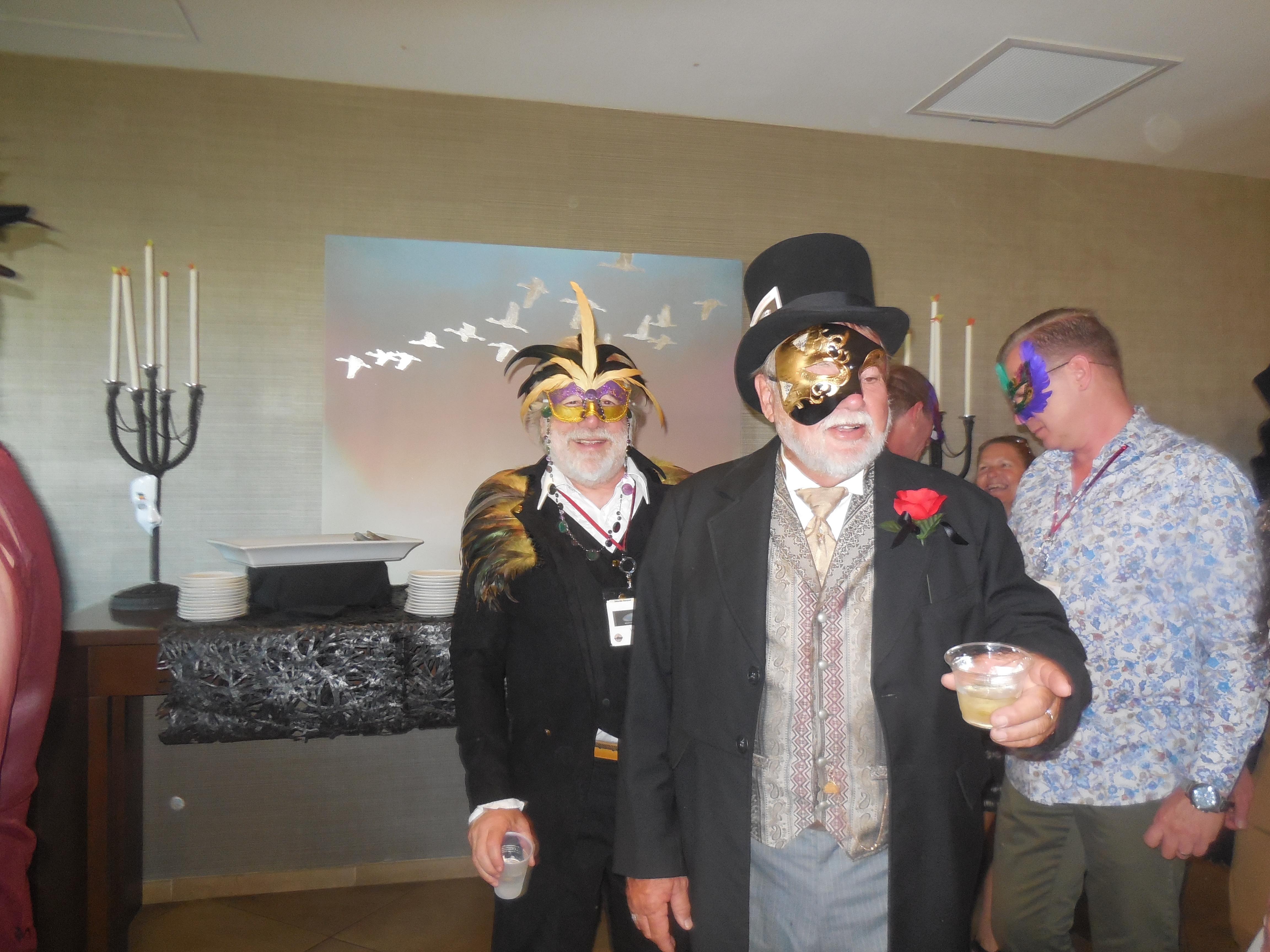 Masquerade Ball - characters 09