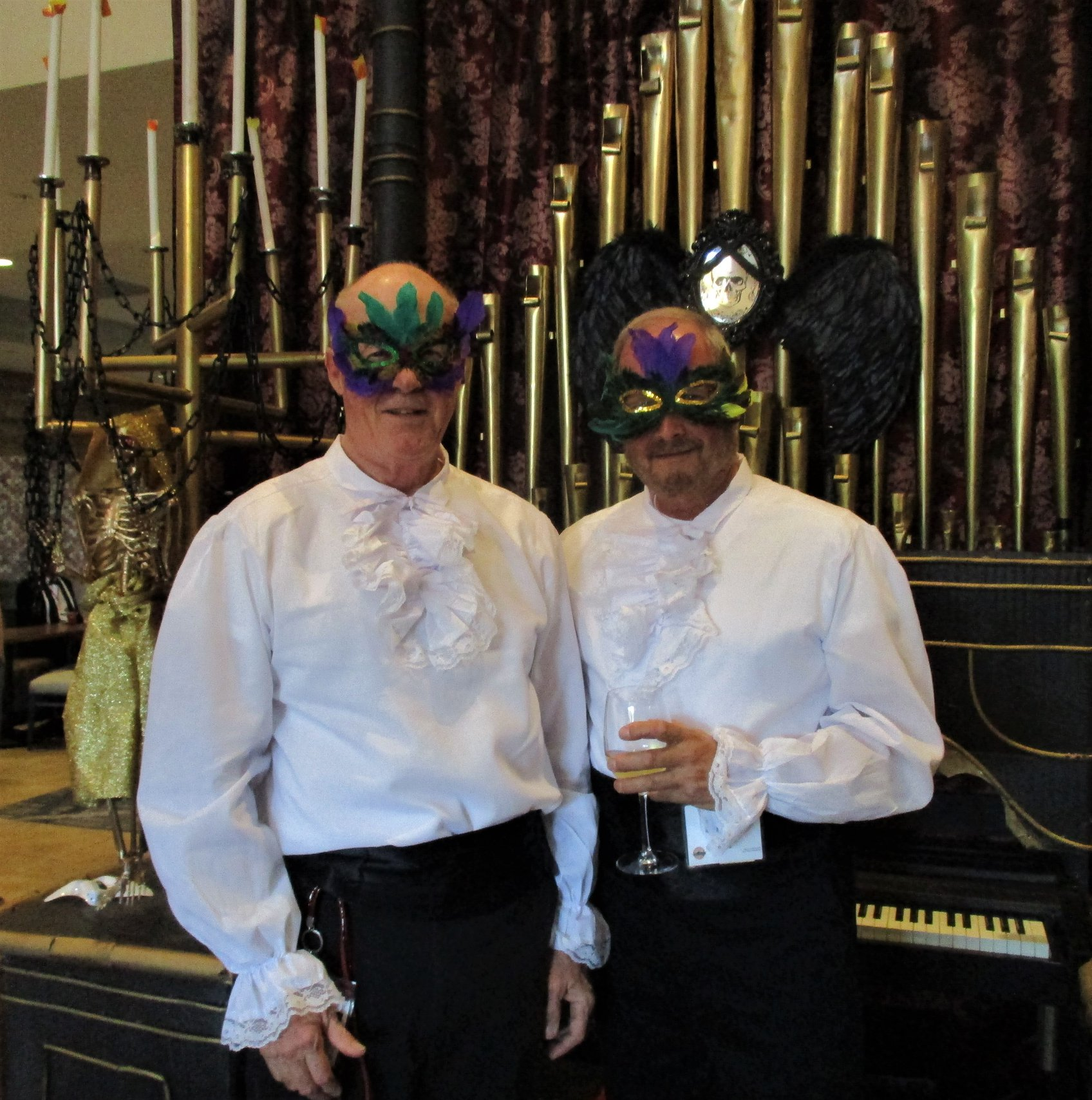 Masquerade Ball - Jay and Michael