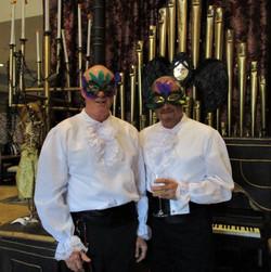 Masquerade Ball - Jay and Michael