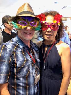 Masquerade Ball - Dave and Sueko