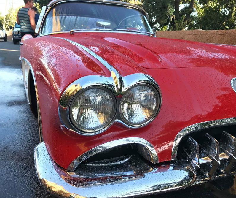 Car Show - Little Wet Corvette.jpg