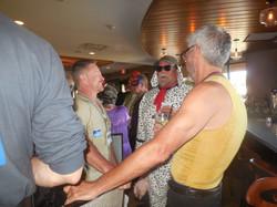 Masquerade Ball - the bar scenery