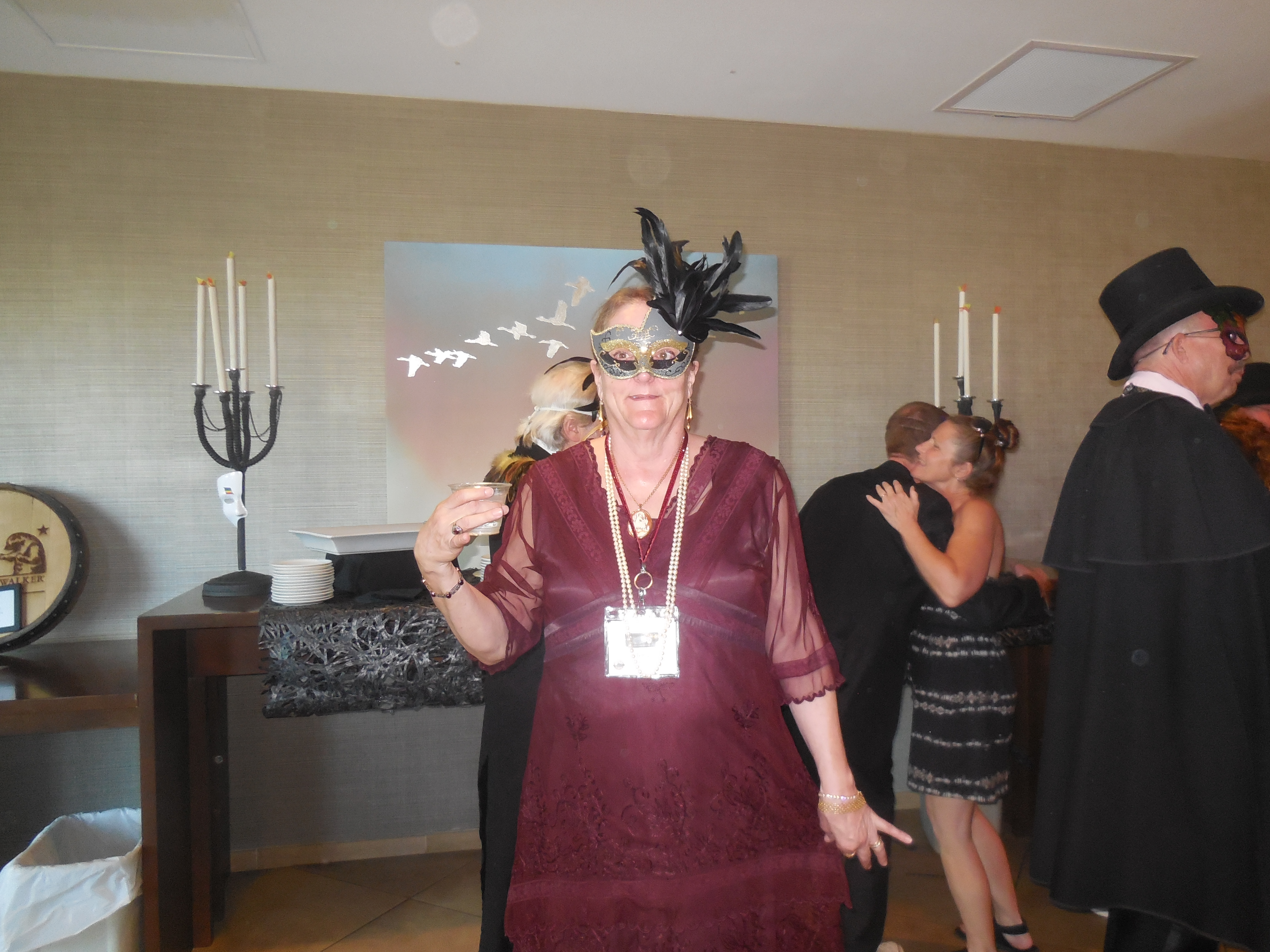 Masquerade Ball - characters 08