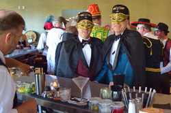 Masquerade Ball - Scott and Sandy