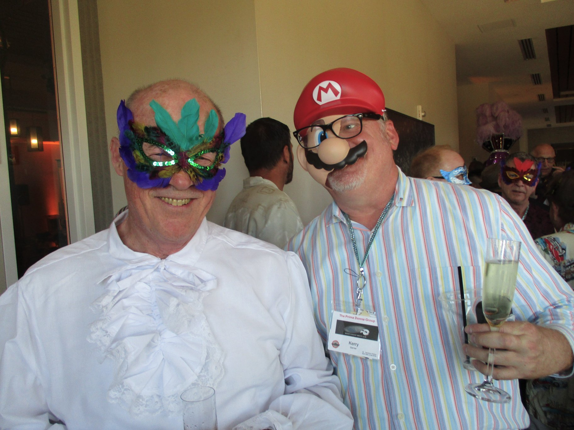 Masquerade Ball - Jay and Mario Brothers