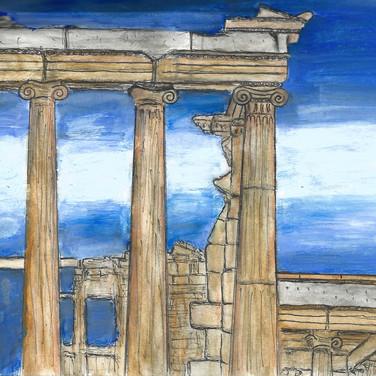 Erechtheum, Acropolis, 2017