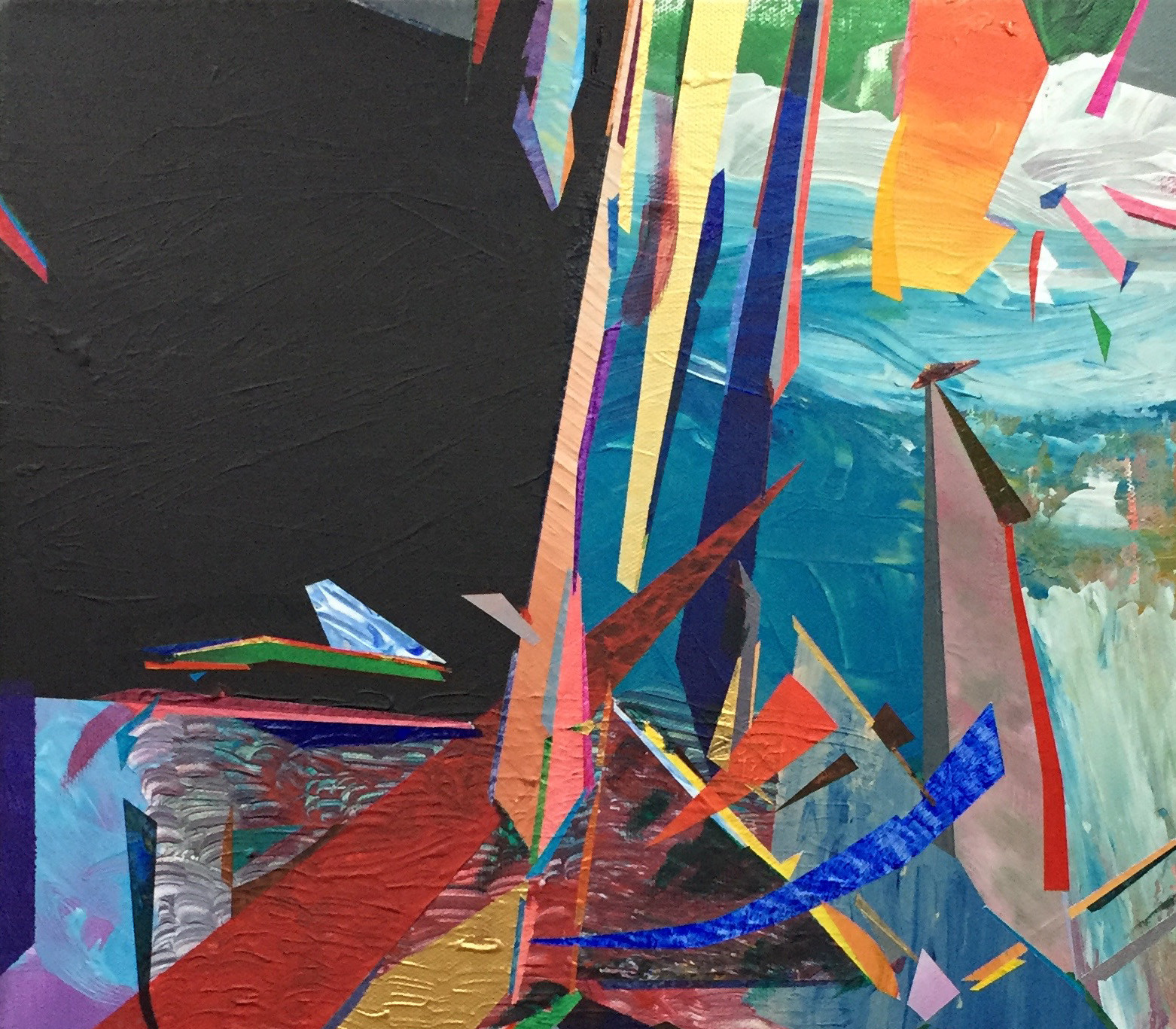 The Crossing (detail), 2017